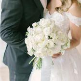 新娘手捧花仿真花韓式婚慶用品手腕花結婚影樓攝影道具  限時八八折