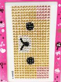 【震撼精品百貨】Rilakkuma San-X 拉拉熊懶懶熊~鑽貼紙-拉拉熊#49151