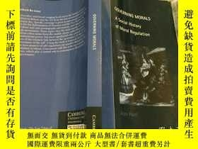 二手書博民逛書店Governing罕見Morals: A Social Hist