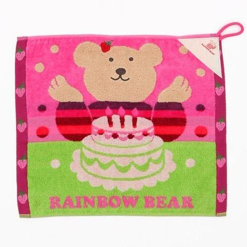 彩虹熊/擦手巾/825-295