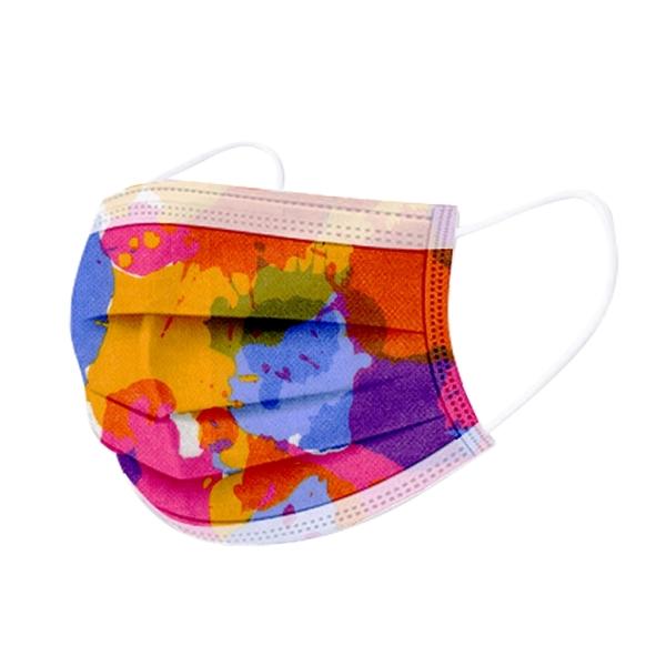 文賀生技醫用口罩 (未滅菌)-三層醫療口罩-時尚系列-繽紛年華 30入/盒