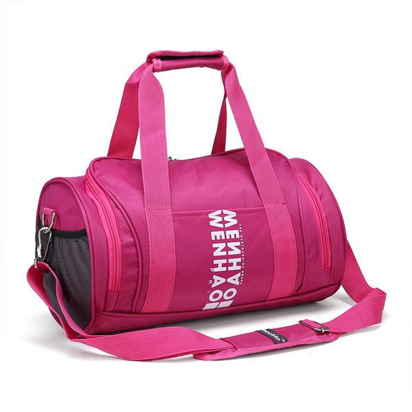 年新款 女生旅行包 女款旅行運動健身包 女性行李袋 大容量短途旅行袋健身旅遊包