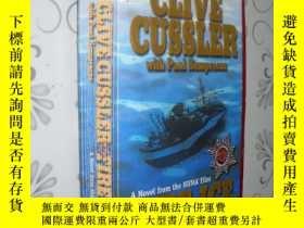 二手書博民逛書店Fire罕見Ice by Clive Cussler 英文原版1
