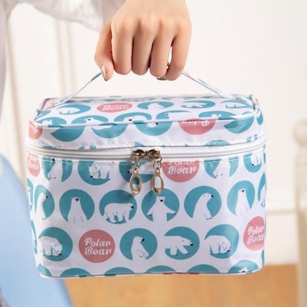 大容量化妝品包包女可愛韓版化妝包網美防水收納包便【匯美優品】