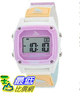 [106美國直購] Freestyle 手錶 Shark Quartz B01LY94KUW Plastic and Nylon Sport Watch, Color:White (Model: 10026835)