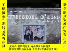二手書博民逛書店Hélène罕見Havlik :Impression d Europe : regards d artiste 歐
