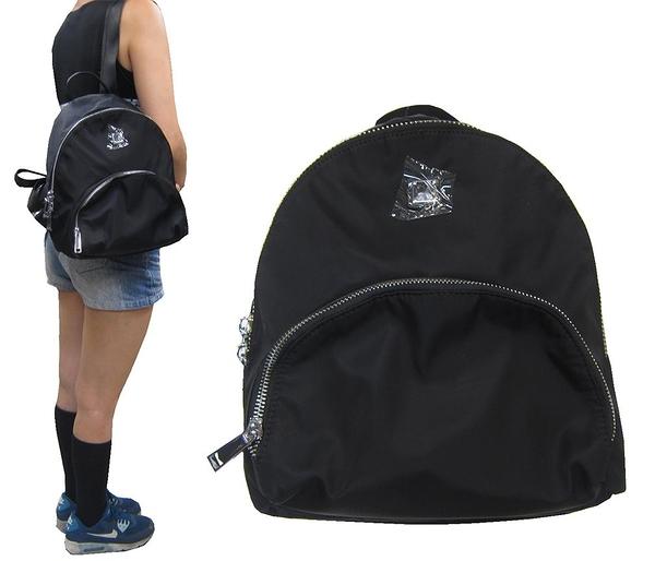 ~雪黛屋~COUNT 後背包中容量主袋+外袋共三層輕量防水水晶布+牛皮革主袋BCD50003101300