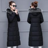 新款羽絨棉服衣女棉衣冬季韓版加厚中長款過膝保暖外套