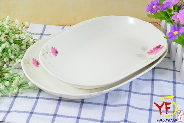 【堯峰陶瓷】餐桌系列 骨瓷 情定一生 12吋單入 盤子 花邊長盤 | 新婚贈禮 | 新居落成禮 | 現貨