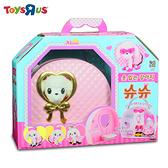 玩具反斗城 【MIMI World】 時尚粉紅提包狗