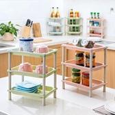客廳置物架 居家家廚房桌面置物架客廳多層整理架浴室臺面衛生間收納架儲物架【快速出貨】