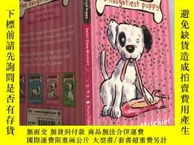 二手書博民逛書店Puddle罕見the naughtiest puppy 把最調皮的小狗放在水坑裏)Y200392