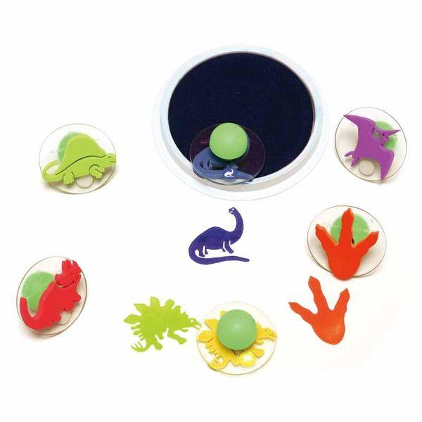 恐龍世界大印章 兒童幼兒教具教學道具彩繪著色畫圖用具親子同樂綜合活動藝術與人文