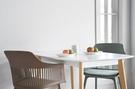 【歐雅系統家具】塔利餐椅-灰綠 / 北歐風 / 現成家具 / 椅子 / 莫蘭迪色 / 兩色選擇