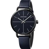 Calvin Klein CK Even 超然系列十字線手錶-海軍藍/42mm K7B214VN