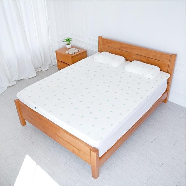 超值透氣5cm乳膠床墊【5x6.2尺 雙人】