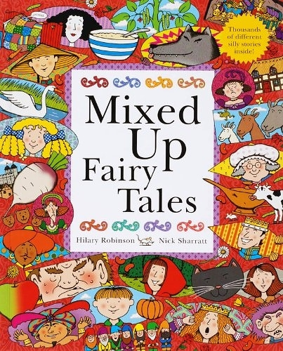【麥克書店】MIXED UP FAIRY TALES /翻翻書