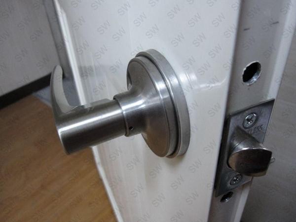 LZ001不銹鋼加厚套盤 寬約 65 mm 門厚不夠加厚用 水平把手套盤 喇叭鎖套盤 不鏽鋼套盤 輔助鎖