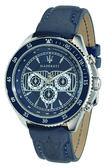 【Maserati 瑪莎拉蒂】/三眼皮帶錶(男錶 女錶 手錶 Watch)/R8851101002/台灣總代理原廠公司貨兩年保固