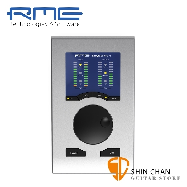 【預購】RME Babyface Pro FS USB 專業 錄音介面 / 錄音卡24bit/192kHz 台灣公司貨