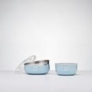 美國 Kangovou小袋鼠不鏽鋼安全點心碗-野莓藍