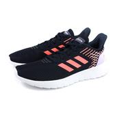 adidas ASWEERUN 慢跑鞋 運動鞋 深藍/粉橘 女鞋 EG3188 no827