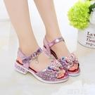 女童涼鞋 女童涼鞋新款時尚韓版夏季兒童鞋防滑公主鞋軟底小女孩中大童 韓菲兒