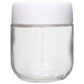 玻璃儲物罐 350ml 白98831003 NITORI宜得利家居