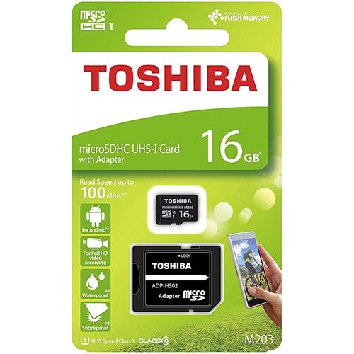 Toshiba 東芝 EXCERIA M203 16GB microSDHC 記憶卡