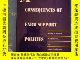二手書博民逛書店MACROECONOMIC罕見CONSEQUENCES OF FARM SUPPORT POLICIES【書內幹凈