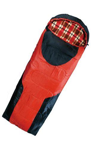 法蘭絨纖維睡袋【愛買】