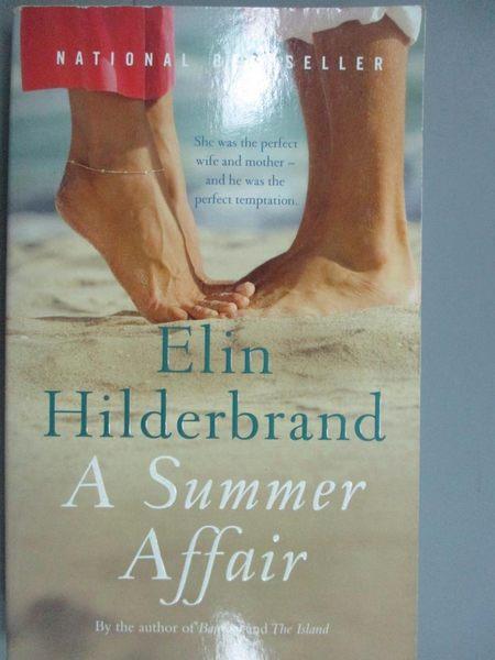 【書寶二手書T7/原文小說_KNJ】A Summer Affair_Elin Hilderbrand