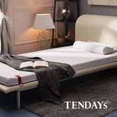 床墊-TENDAYs 3.5尺 單人加大7cm厚-柔織舒壓記憶床墊