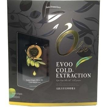 博能生機~100%西班牙頂級冷萃初榨橄欖油500ml/罐 (2入禮盒組)