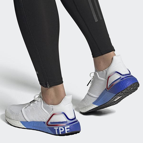 【現貨】adidas Ultra boost 20 City Pack Hype 女鞋 慢跑 愛迪達 白藍紅 TPE 舒適 FX7816