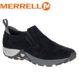【MERRELL 美國 男款 JUNGLE MOC AC+ 休閒鞋《黑》】ML91701/休閒鞋/懶人鞋/慢跑鞋/健走鞋★滿額送