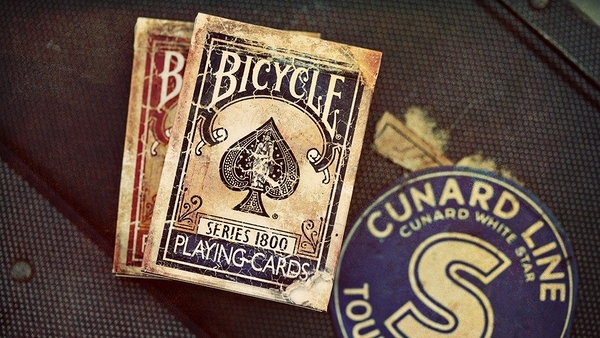 【USPCC撲克館】Marked 1800 playing cards blue (黑封標)