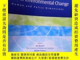 二手書博民逛書店Global罕見Environmental Change Vol