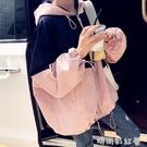 韓版潮bf原宿開衫連帽棒球服外套女短款春秋寬鬆小外衣學生上衣服「時尚彩紅屋」