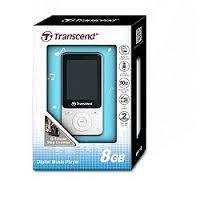 創見 TRANSCEND 創見 MP4 8G MP710 健身模式 G-Sensor計步器 TS8GMP710W(白色)
