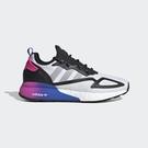 【雙12折後$4380】adidas ZX 2K BOOST 男鞋 慢跑 休閒 Boost中底 緩震 漸層 白 黑 FX8835