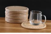 5個裝圓形軟木隔熱墊鍋墊加厚靜音盤墊子碗墊防滑防燙餐桌墊·享家生活館