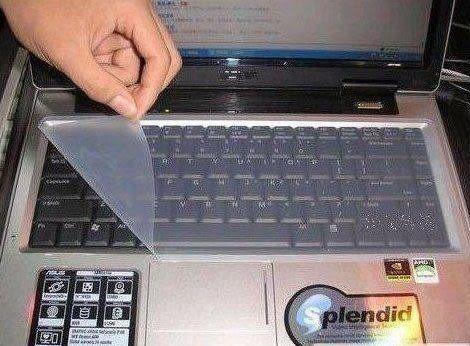 防塵 防潑水 筆記本/筆記型電腦鍵盤保護貼保護膜~保持鍵盤清潔