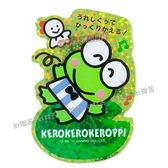 日本進口大眼蛙三麗鷗經典系列薄型閃閃貼紙512357【玩之內】