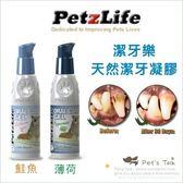 Pet's Talk~美國Petzlife潔牙樂-天然潔牙凝膠 不用再麻醉洗牙/老犬及無法接受洗牙的小型犬