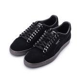 PUMA SUEDE CLASSIC X CHAIN 復古鎖鏈板鞋 黑銀 367391-01 男鞋