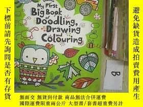 二手書博民逛書店MyFirstBigBook罕見of Doodling, Drawing and Colouring.Y261