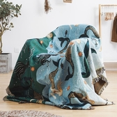 沙發巾靠背巾全蓋布藝坐墊子沙發罩沙發套客廳單雙人線毯沙發墊