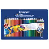 施德樓 MS14410 M36 快樂學園 水性色鉛筆36色入/盒