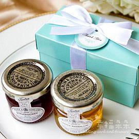 婚禮小物 Double Love Tiffany盒英國進口Tiptree二入小果醬禮盒 二進.結婚. 幸福朵朵